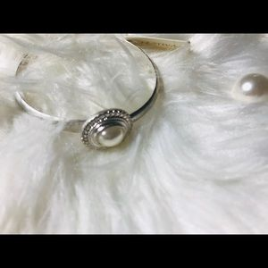 ❤️Women's silver pearl cuff bracelet❤️